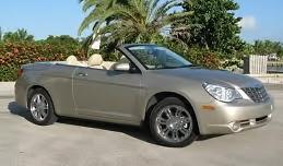 Begagnade Chrysler Sebring cabriolet slumpas för 20 000 kr.