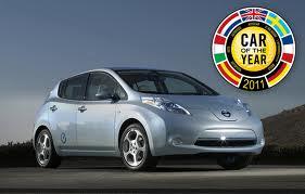 Nissan Leaf Årets Bil 2011