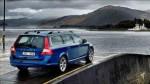 Volvo V70 blå