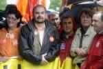 Franska bilarbetare strejkar