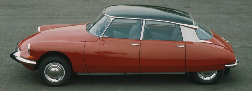Citroën ID/DS - en klassiker redan från starten 1955.