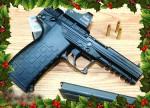 Vapenaffärerna lockar kunder till jul