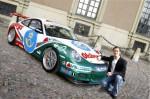 Prins Carl Philip inledde sin racingkarriär i en Porsche - nu tar han klivet till Volvo S60.