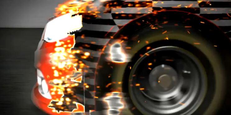 Screenshot från GM:s presentationsvideo av Chevrolet SuperSport.