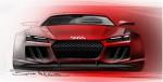 Audi Quattro Concept front