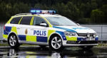 Polisbil Sverige PAssat
