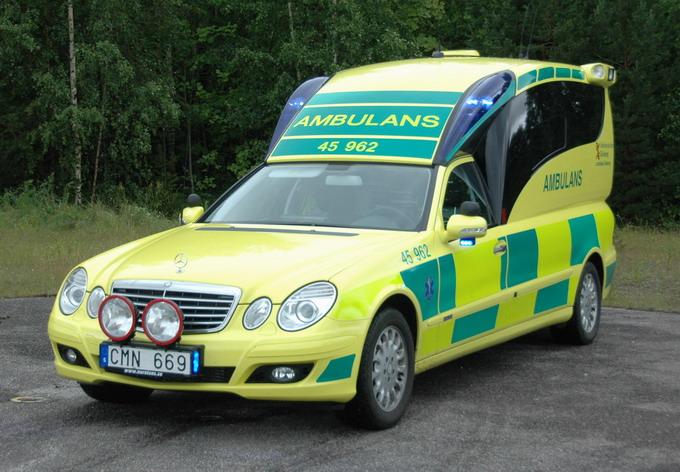 Ambulans Merc