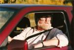Christer Glenning testade bilar i TV, men också tomtens släde.